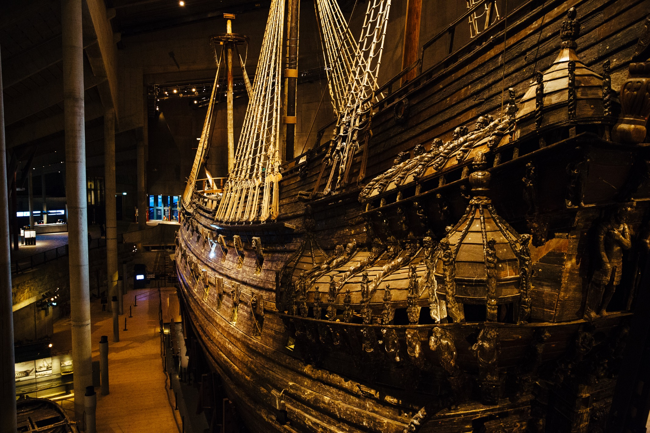 Stockholm: The Vasa, buried beneath the waves.